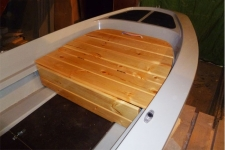 Носовой рундук для лодки Шарк-330