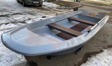 Моторно-гребная лодка Шарк-400 PROFI